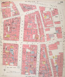 Insurance Plan of London Vol. VI: sheet 126